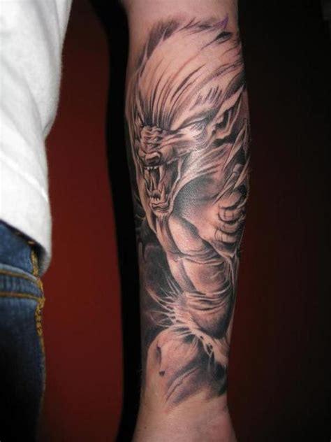 werewolf tattoo picture  checkoutmyinkcom