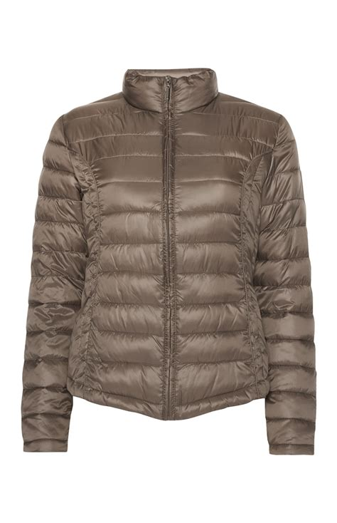 Taupe Super Lightweight Puffa Jacket Is All Available For