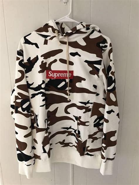 supreme box logo hoodie  camo ua replica  storenvy