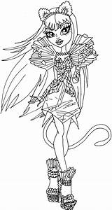 Free Printable Monster High Coloring Pages: Catty Noir Boo ...