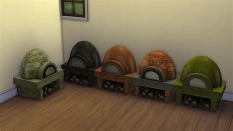 mod  sims rustic clay pizza oven  pizza recipes