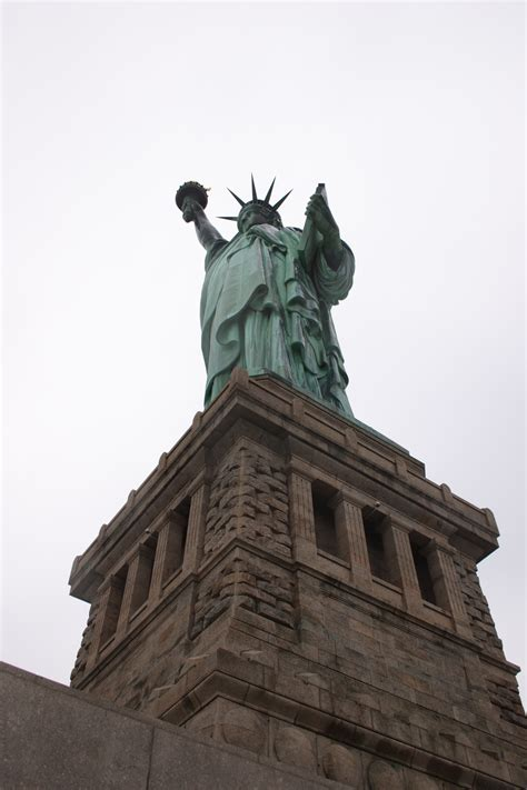 statue of liberty pedestal free stock images of cities