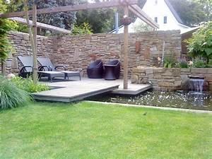 Naturstein Im Garten : natursteinmauer garten bau d sseldorf ~ A.2002-acura-tl-radio.info Haus und Dekorationen