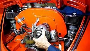 Air Cooled Vw Beetle Alternator Removal Fan Adjustment Pt 1