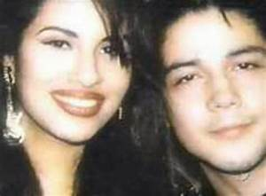 Selena Quintanilla Perez and her Husband Chris Perez ...