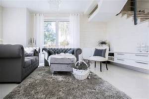 Wohnzimmer Deko Schwarz Weiss : wohnzimmer farb kombinationen mit grau ~ Bigdaddyawards.com Haus und Dekorationen