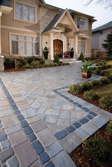 courtstone unilock walkway with richcliff and courtstone paver by unilock