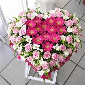 compositions deuil raquettes gerbes coussins With chambre bébé design avec composition fleurs deuil