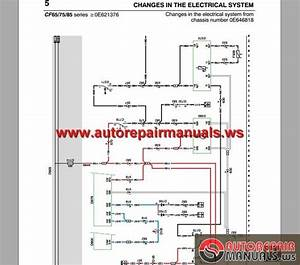 Daf Cf65  Cf75  Cf85  From Chassis 0e621376 Z Electrical Wiring Diagram