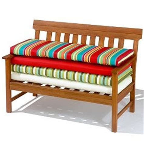 patio bench cushions tips for bench cushions yard surfer