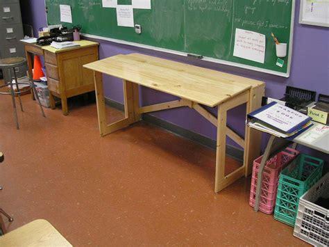nomad furniture  folding desk  steps  pictures