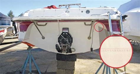 Boat Manufacturers Hull Identification Number by Hull Identification Numbers Boatus Magazine