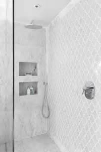 Carrara Marble Hexagon Floor Tile by 1000 Ideas About Shower Tile Designs On Pinterest