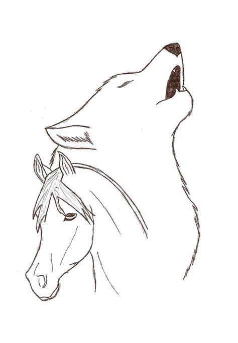 wolf  horse  gjokkdeviantartcom  atdeviantart