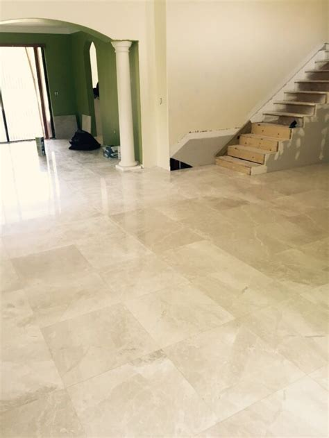 Kitchen Floor Tile Marble by Botticino Light Polished 24x24 Marble Marble