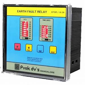 Manufacturer Of Static Earth Leakage Relay  U0026 Static Earth