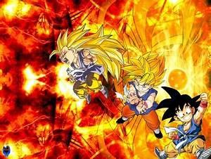 GOKU GT EVOLUTION - Dragonball & Anime Background ...