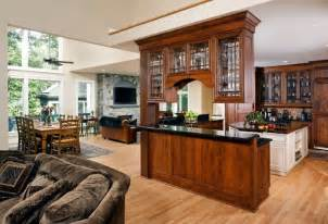 decorating ideas above kitchen cabinets cherry and painted kitchen with glass peninsula cabinets