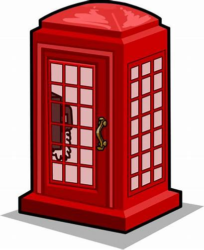 Booth Telephone London Clipart Box Phone Transparent