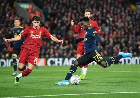 Liverpool FC v Arsenal FC Carabao Cup Round of 16 #19605474