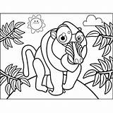 Baboon Cute Coloring Pages Animals Additions Newest Printable Colors Freeprintablecoloringpages sketch template