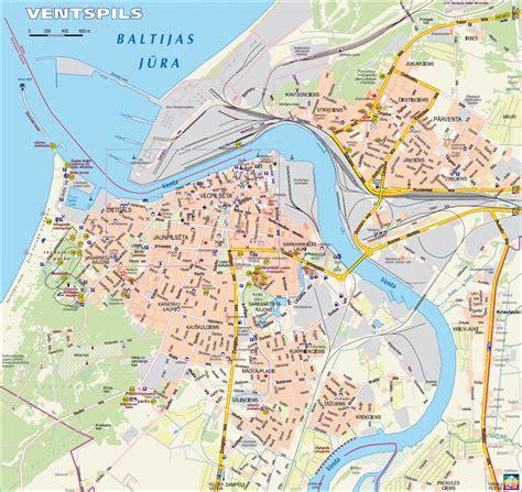Ventspils Map