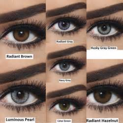 Color Contact Lenses for Dark Brown Eyes