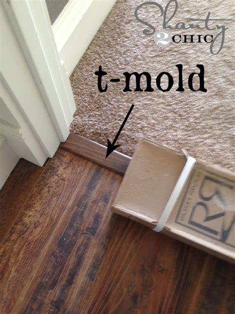 install laminate flooring shanty  chic