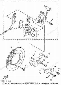 Yamaha Motorcycle 1997 Oem Parts Diagram For Front Brake
