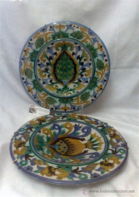 sebastian aguado toledo pareja de platos ceramic