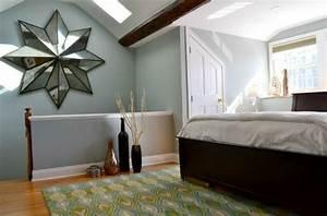 chambre sous les combles 30 idees d39amenagement et deco With tapis chambre bébé avec fleurs Á livrer