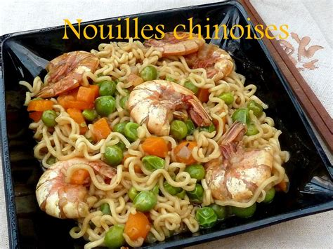cuisiner des pates chinoises recette pates chinoises aux crevettes 28 images