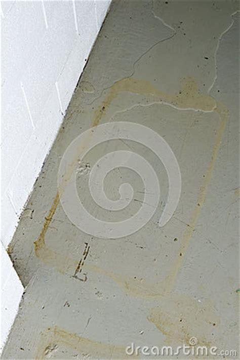 Basement Water Seepage Thru Foundation Stock Photography