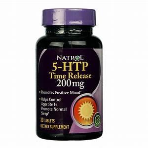 Natrol 5-htp  Timed Release - 200 Mg - 30 Tablets