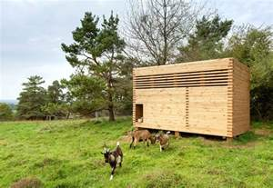 design architektur goat barn bavaria by kuhnlein architektur design