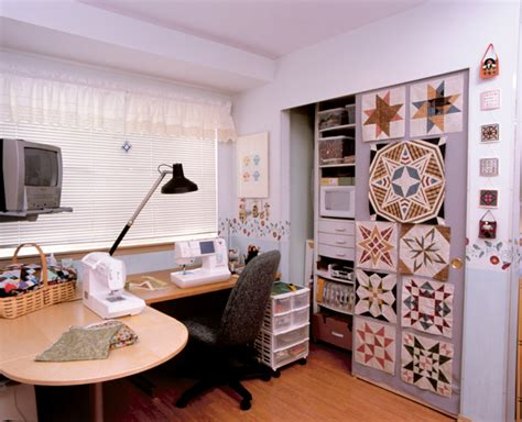 martingale creating  perfect quilting space