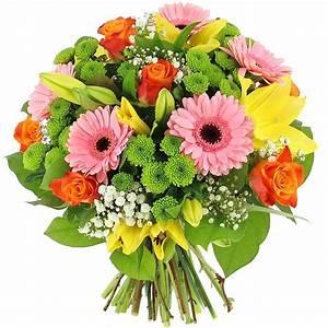 Bouquet De Fleurs : livraison bouquet d 39 amandine bouquet de fleurs foliflora ~ Teatrodelosmanantiales.com Idées de Décoration