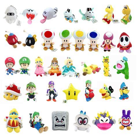 Super Mario Bros Yoshi Koopa Toadette Blooper Toad