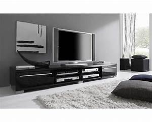 Meuble Tv 1m : meuble tv bas et long design ~ Teatrodelosmanantiales.com Idées de Décoration