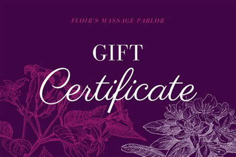 The printable is made and made at specific qualities. Customize 100+ Massage Gift Certificate templates online - Canva