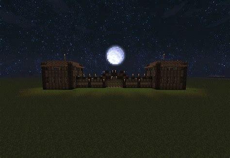 wooden gate house minecraft map