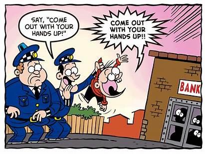 Police Beano Shouty Comic Helps Again Start
