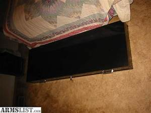 ARMSLIST - For Sale: Under bed 2-gun Safe