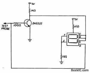 Seven Segment Logic Probe - Power Supply Circuit