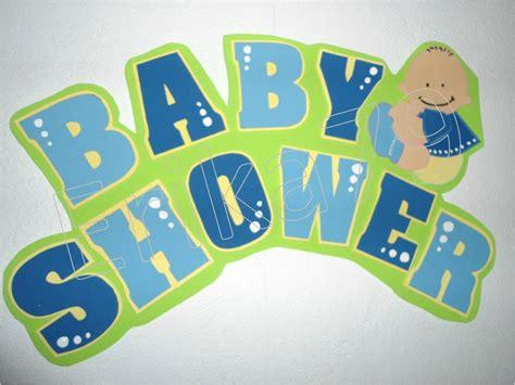 Kikita Manualidades: Baby Shower de mi hermana Letrero de
