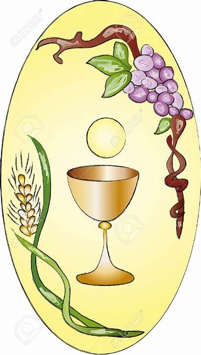 Clipart Cup Communion Religious Holy Cliparts Chalice