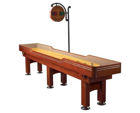 well universal shuffleboard table 9 foot shuffleboard table costco designer tables reference