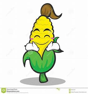 Sweet Corn Cartoon Cartoon Vector | CartoonDealer.com ...