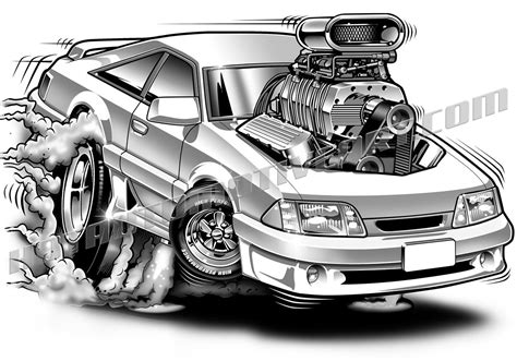 classic ford muscle cars art  ford mustang muscle