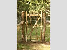 Beautiful, Rustic Dog Fence